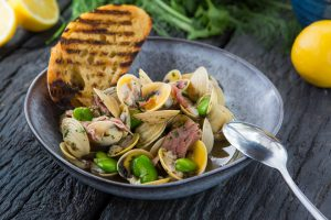Vongole clams